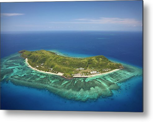 Accommodation Metal Print featuring the photograph Tokoriki Island, Mamanuca Islands by David Wall
