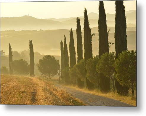 Europe Metal Print featuring the photograph Tuscany by Christian Heeb