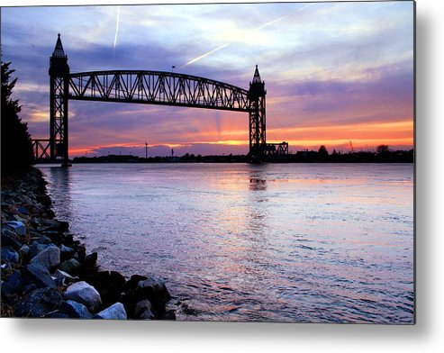 Cape Cod Metal Print featuring the photograph Under The Bridge by MPG Artworks