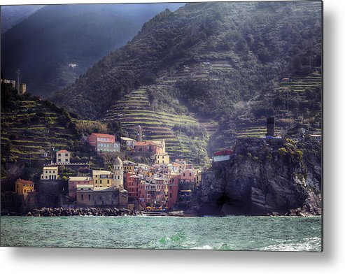 Vernazza Metal Print featuring the photograph Vernazza by Joana Kruse