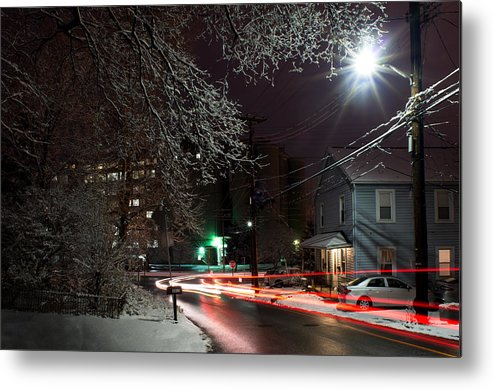 Metal Print featuring the photograph Westchester Avenue by Dana Sohr