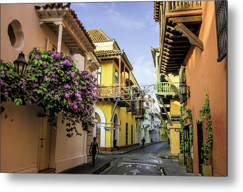 Architecture Metal Print featuring the photograph Wonderful Spanish Colonial Architecture by Jerry Ginsberg