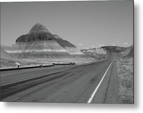 66 Metal Print featuring the photograph Painted Desert by Frank Romeo