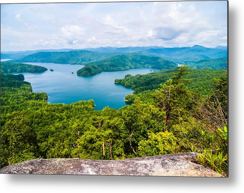 Appalachia Metal Print featuring the photograph Scenery Around Lake Jocasse Gorge by Alex Grichenko