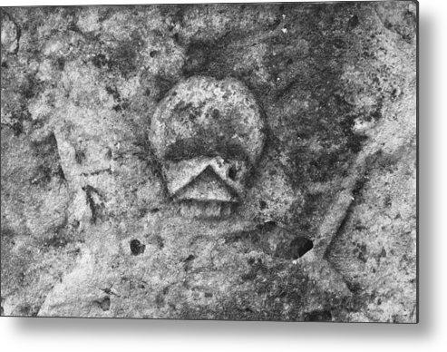 Skull Metal Print featuring the photograph Adam Head by Andrey Bezukladnikov