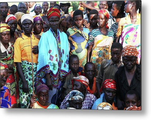 Africa Metal Print featuring the photograph Burundi-peace by Ton Koene