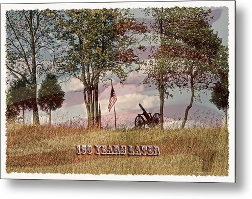 150 Years Later Metal Print featuring the photograph 150 Years Later by Randall Branham
