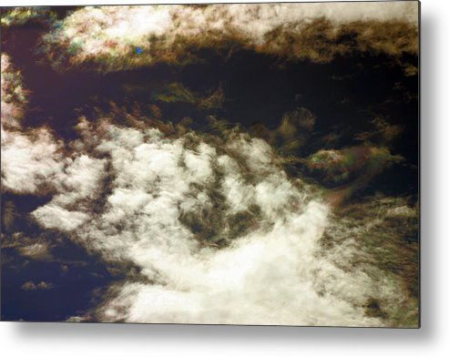 Cloud Metal Print featuring the photograph Cloaked Craft Cloud Photograph by Sean Gautreaux