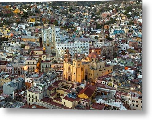 Guanajuato Metal Print featuring the photograph Guanajuato, Mexico by John Shaw