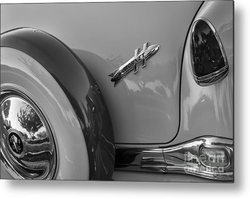 1954 Hudson Metal Print featuring the photograph 1954 Hudson Hornet by Dennis Hedberg