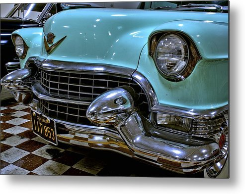 1956 Metal Print featuring the photograph 1956 Cadillac Lasalle by Michael Gordon