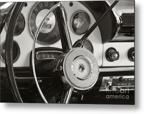 1956 Metal Print featuring the photograph 1956 Ford by Dennis Hedberg