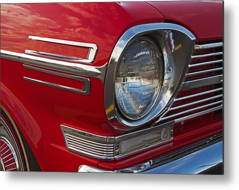 1962 Metal Print featuring the photograph 1962 Chevrolet Nova by Nick Gray