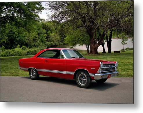 1965 Metal Print featuring the photograph 1965 Ford Fairlane Xl by Tim McCullough