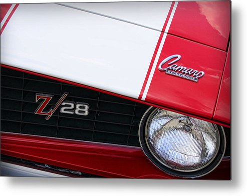 1969 Metal Print featuring the photograph 1969 Chevrolet Camaro Z28 by Gordon Dean II