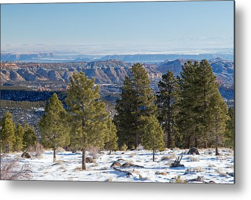 Dixie Nf Metal Print featuring the photograph Larb Hollow Overlook by Fred Stearns