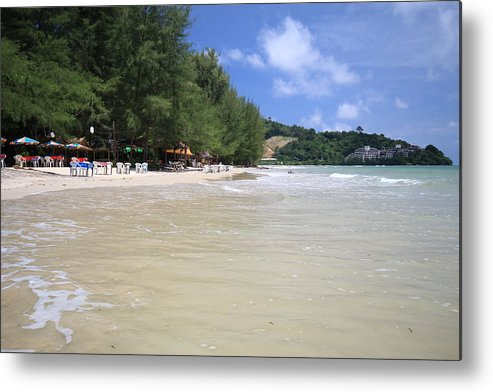 Beach Metal Print featuring the photograph Nai Yang Beach Phuket Island Thailand by Ash Sharesomephotos