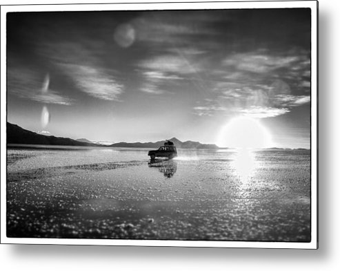 Atomic Bomb Metal Print featuring the photograph Off Road Uyuni Salt Flat Tour Select Focus by For Ninety One Days