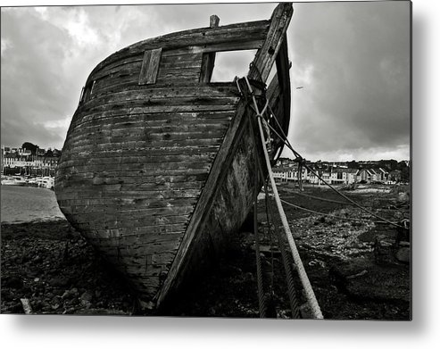 Old Metal Print featuring the photograph Old Abandoned Ship by RicardMN Photography