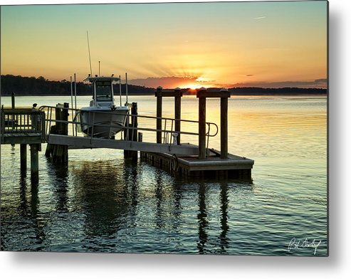 Beaufort County Metal Print featuring the photograph On The Waterfront by Phill Doherty