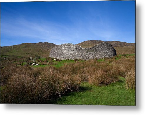 Photography Metal Print featuring the photograph Staigue Fort At 2,500 Years Old One by Panoramic Images