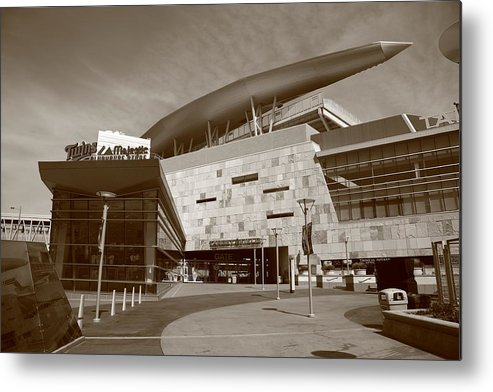 America Metal Print featuring the photograph Target Field - Minnesota Twins by Frank Romeo