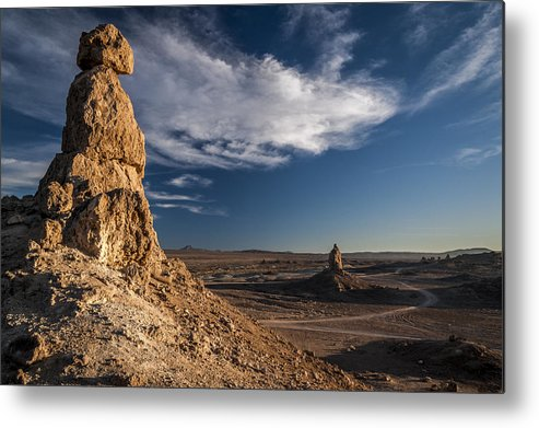 California Metal Print featuring the photograph Trona Pinnacles by Cat Connor
