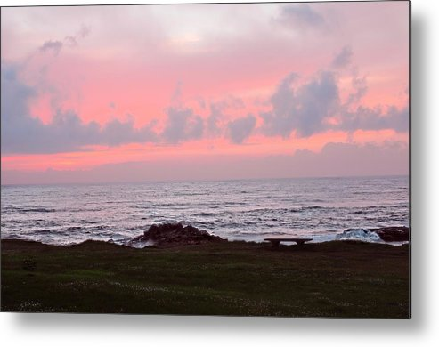 Yachats Metal Print featuring the photograph Yachats Oregon by Image Takers Photography LLC