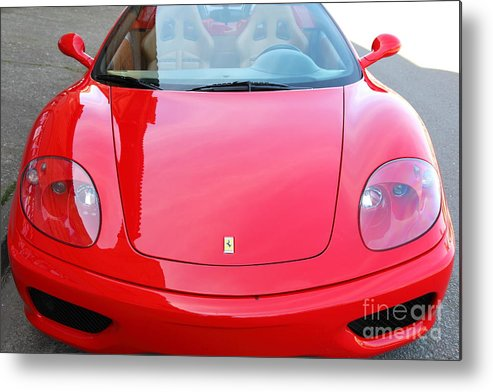 Transportation Metal Print featuring the photograph 2000 Ferrari 360 Modena 5d28110 by Wingsdomain Art and Photography