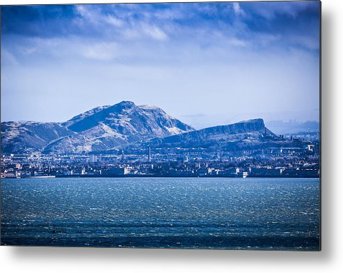 Edinburgh Metal Print featuring the photograph Arthur's Seat by Michael Schofield