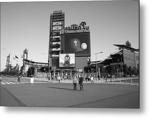 America Metal Print featuring the photograph Citizens Bank Park - Philadelphia Phillies by Frank Romeo