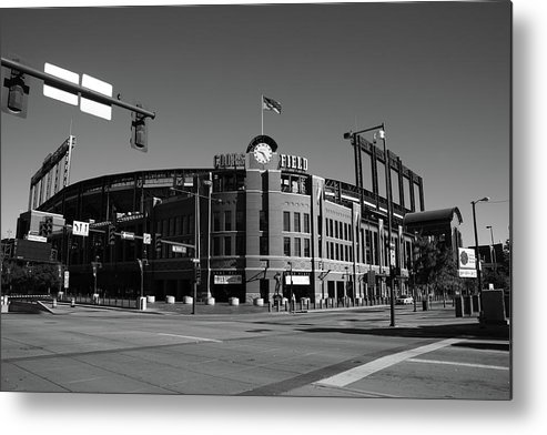 America Metal Print featuring the photograph Coors Field - Colorado Rockies by Frank Romeo