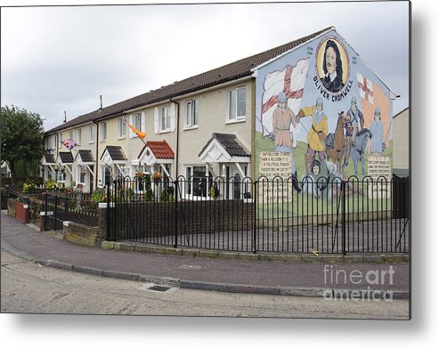 Belfast Metal Print featuring the photograph Mural In Shankill, Belfast, Ireland by John Shaw