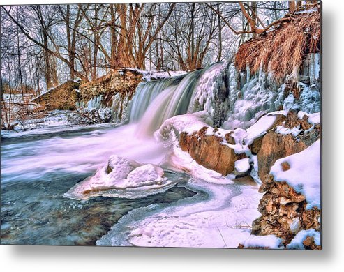 Water Fall Metal Print featuring the photograph Tracybphotography by Tracy Bennett