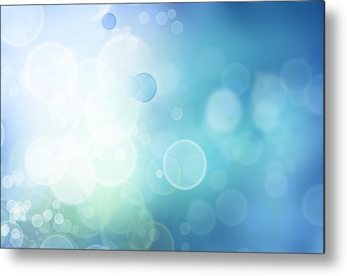 Abstract Metal Print featuring the digital art Abstract Background by Les Cunliffe