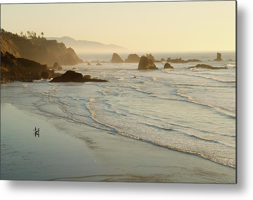 Indian Beach Metal Print featuring the photograph United States by Greg Vaughn