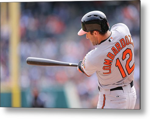 Ninth Inning Metal Print featuring the photograph Baltimore Orioles V Detroit Tigers by Leon Halip