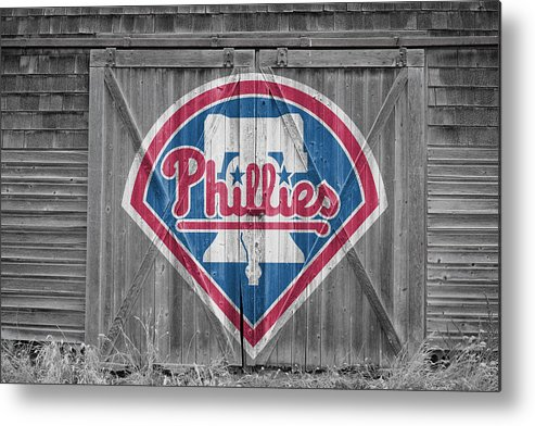 Phillies Metal Print featuring the photograph Philadelphia Phillies by Joe Hamilton