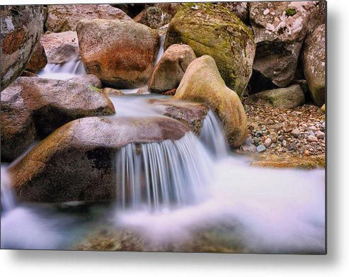 Corse Metal Print featuring the photograph Restonica Valley In Corsica by Jon Ingall