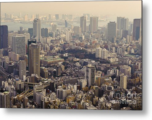 Asia Metal Print featuring the photograph Tokyo, Japan by John Shaw