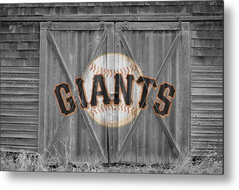 Giants Metal Print featuring the photograph San Francisco Giants by Joe Hamilton