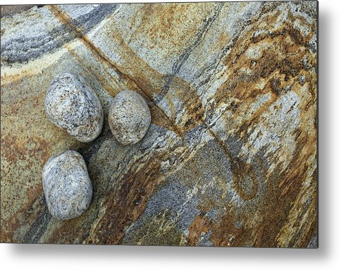 River Metal Print featuring the photograph Stones From Verzasca Valley by Radka Linkova