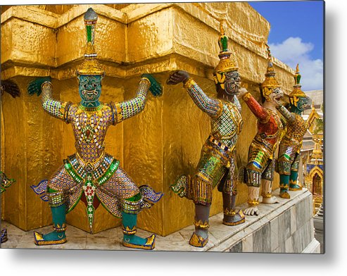 Ramakien Metal Print featuring the photograph Thailand by David Davis