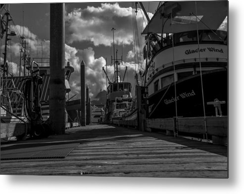 Dock Metal Print featuring the photograph A Day At The Dock by Tom Slater