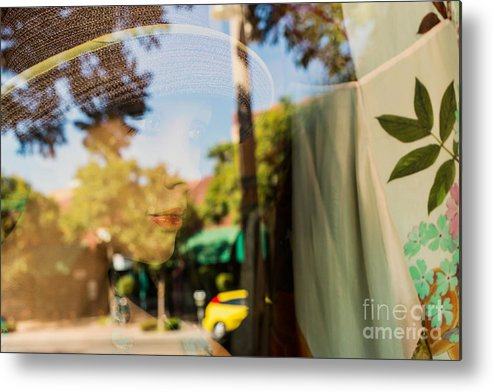 Window Metal Print featuring the photograph A Girl's Dream by Terry Ellis