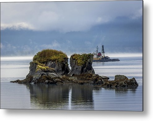 Fishing Metal Print featuring the photograph A Good Day Of Fishing by Tom Slater