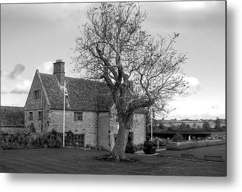 Canon Metal Print featuring the photograph A House And A Tree by Jeremy Hayden