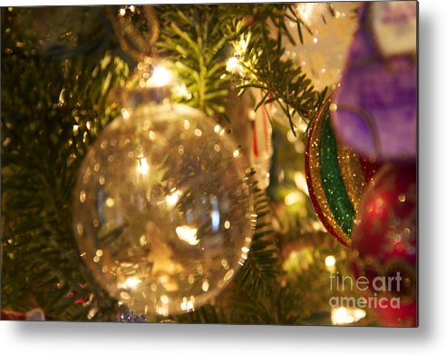 Christmas Ornaments Metal Print featuring the photograph A Magical Time Of Year by Michael Mooney