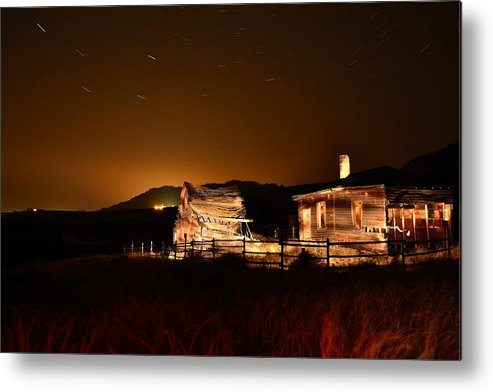 Haynes Ranch Metal Print featuring the photograph A Night At Haynes Ranch IIi by Phil Dionne
