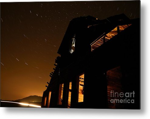 Haynes Ranch Metal Print featuring the photograph A Night At Haynes Ranch V by Phil Dionne